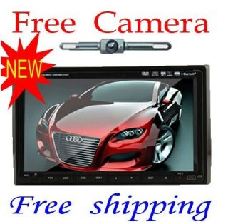 Touch Screen Double DIN Car Radio Stereo Rear Camera