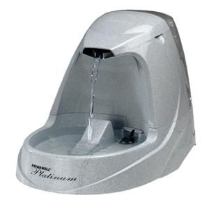 Drinkwell Platinum Pet Fountain   Cat or Dog Water Drinking Fountain