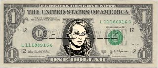 Adele Dollar Bill Real Currency Celebrity Novelty Collectible Money