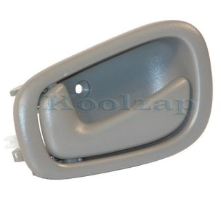 Gray Grey Inside Inner Interior Door Handle Left Driver Side