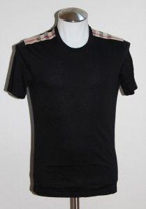 BURBERRY BRIT Mens T shirt Polo Black Sze XS,S,M,L,XL,2XL Short Sleeve