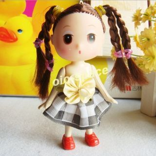 Mini Skirt Girl Dress Dolls Baby Doll Toy for Kids Lovers Gift Best