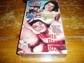 VHS Brand New Annette Funicello Frankie Avalon Don Rickles