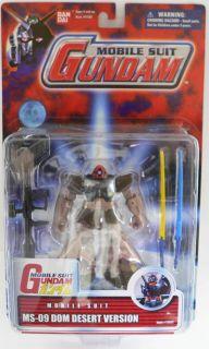 Bandai Mobile Suit Gundam MS 09 DOM Desert Version Figure MOC