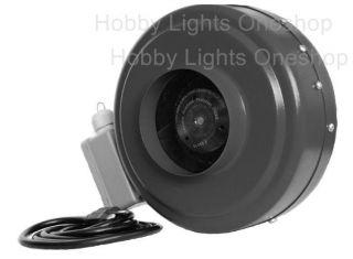 inch hydroponic inline duct fan exhaust blower