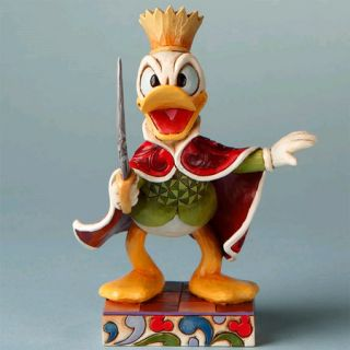 Jim Shore Disney Traditions Donald Duck as The Rat King 4016561