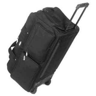 Everes Bags Cross Counry Wheeled Duffel Bag   22 NEW
