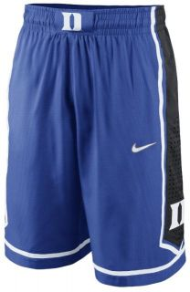 DUKE BLUE DEVILS NCAA 2012 NIKE REPLICA BASKETBALL SHORTS NEW XL