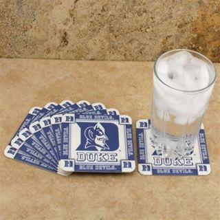 Duke Blue Devils Drink Beer Coasters 10 Count Brand New Absorbent Go