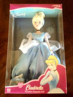 Disney Princess Cinderella Porcelain Brass Key Collectible Keepsake