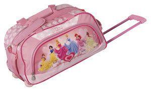 Disney by Heys USA Heart of A Princess 18 Wheeled Girls Duffel Bag