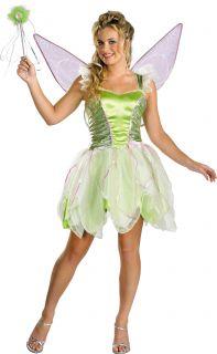 Disneys Princess Tinker Bell Deluxe Womens Costume