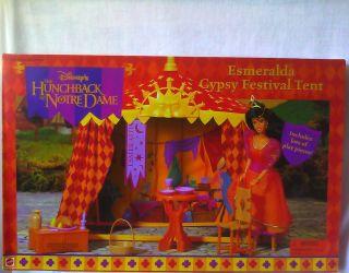 Disneys Hunchback of Notre Dame Esmeralda Gypsy Festival Tent Playset