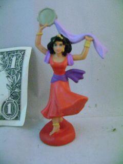 Gypsy Disney Princess Esmeralda PVC Figure The Hunchback of Notre Dame