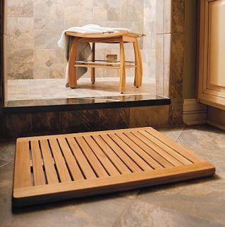 Teak Wood Teak Doormat Door Mat Bath Shower Spa Floor
