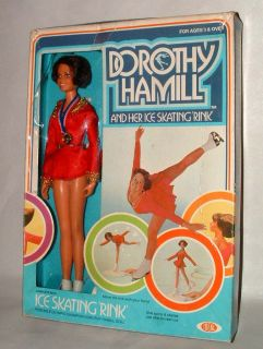 1977 Ideal Dorothy Hamill Ice Skating Doll Mint in Box