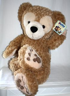 Duffy Hidden Mickey Mouse Teddy Bear Plush Toy New with Tag Large 28