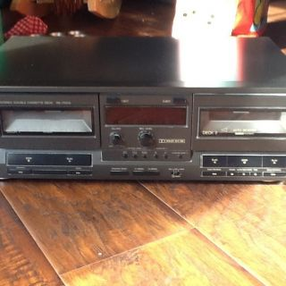 Technics Stereo Double Cassette Deck RS TR212
