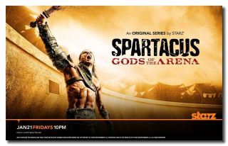 Spartacus Gods of The Arena Dustin Clare as Gannicus Hot Pop TV Silk