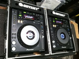 pair Pioneer CDJ 850 black DJ Performance Player CDJ850 with