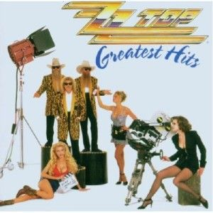 99¢CD ZZ Top Greatest Hits Hard Blues Rock Legends VGD Billy Gibbons