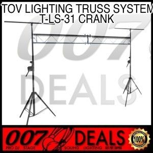 Brand New Pro DJ Lighting Truss System TOV T LS31 Crank