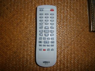 LITE ON PART RM 57 DVD RECORDER HAND REMOTE CONTROL UNIT ONLY FITS LVW