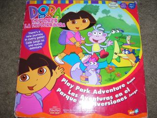 Nick Jr Dora The Explorer Play Park Adventure Game