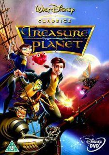 Treasure Planet Arabic Language Cartoon DVD