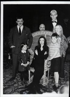 Vintage 1960s Adams Family TV Series 4x5 Negative
