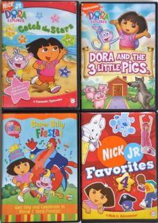 Dora The Explorer Super Silly Fiesta DVD 2004