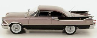 Wonderful Dodge Custom Royal Lancer Hardtop Coupe 1959 Grey Black 1 43