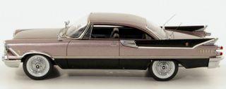 Wonderful Dodge Custom Royal Lancer Hardtop Coupe 1959 Grey Black 1 43