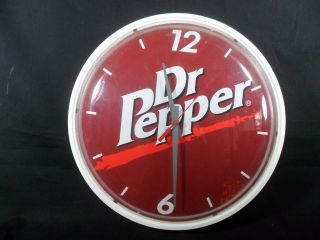 Vintage Dr Pepper Round Clock Wall Clock