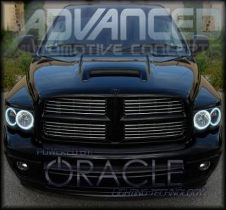 02 05 Dodge RAM Truck Headlight HID Halo Kit Demon Eyes
