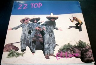 ZZ Top El Loco VVG NEAR MINT nm BSK 3593 Billy Gibbons Dusty Hill