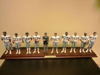 Dallas Cowboys 1977 Team Figure Set Landry Staubach Dorsett