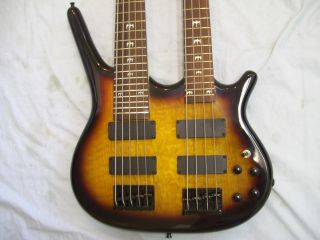Double Neck Bass Guitar 4 and 5 String String