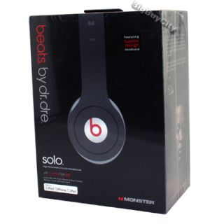 Brand New Factory Sealed Monster Beats by Dre SOLO High Performance On