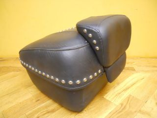 Genuine Harley Davidson Leather Tour Pak Pac Pack Trunk Retail Price $