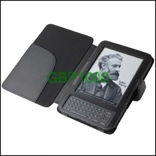 Leather Case Cover for  Kindle 3 3G eBook Reader
