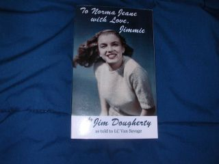 Jim Dougherty Marilyn Monroes 1st Husband Signed Biography