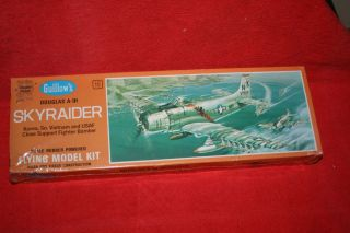 Guillows Douglas A 1H Skyraider Flying Model Kit 1 25 Scale