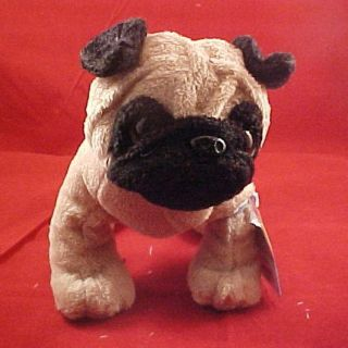 Webkinz Pug Dog 8 1 2 x 6 x 4 Adopt a pet and discover a virtual world