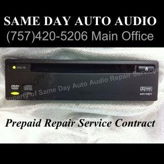 2002   2004 Honda Odyssey DVD Player ( Repair Service )