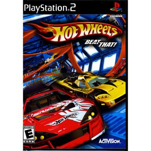 Hot Wheels Beat That PlayStation PS2 Race 30 of The Worlds Coolest
