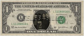 Red Hot Chili Peppers Dollar Bill Real USD Celebrity Novelty