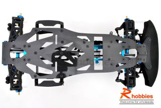 10 RC EP Pre Motor Drift Car CF Chassis Belt Drive
