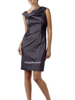 New Adrianna Papell Pappel Cocktail Gown Evening Dress Size 12 US 40