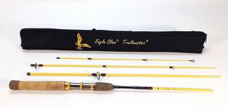 Eagle Claw Trailmaster Light Spin and Fly Rod (7 Feet, 4 Piece)